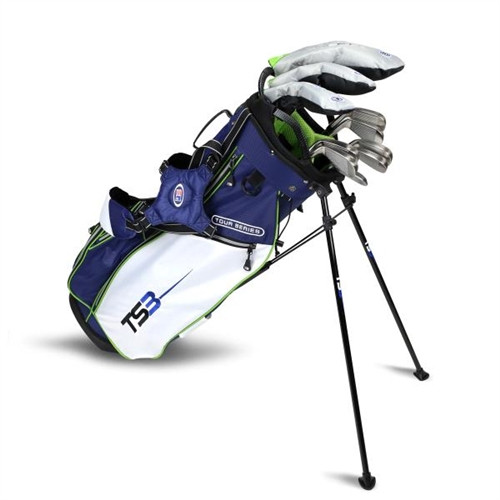 "U.S. Kids Golf TOUR SERIES 57"" Stand Bag 10-Club Sets"