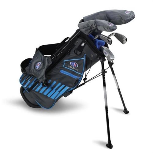 """U.S. Kids Golf Ultralight 48"""" Stand Bag 5-Club Set"""