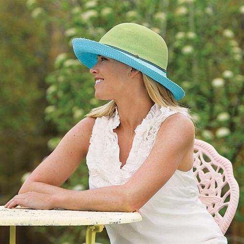 Wallaroo Women's Victoria Two-Toned Hat