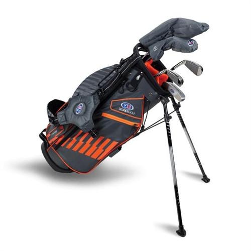 """U.S. Kids Golf Ultralight 51"""" Stand Bag 5-Club Set"""