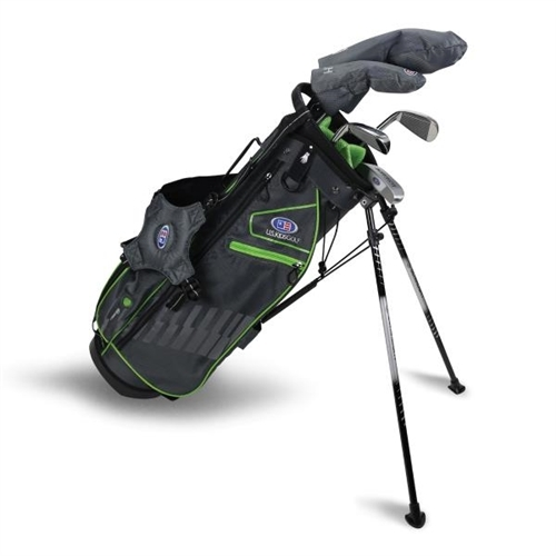 """U.S. Kids Golf Ultralight 57"""" Stand Bag 5-Club Set"""
