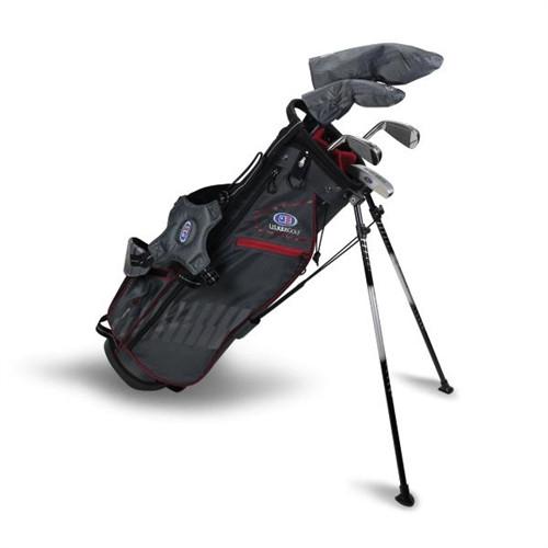 """U.S. Kids Golf Ultralight 60"""" Stand Bag 5-Club Set"""