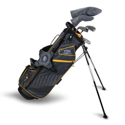 """U.S. Kids Golf Ultralight 63"""" Stand Bag 5-Club Set"""