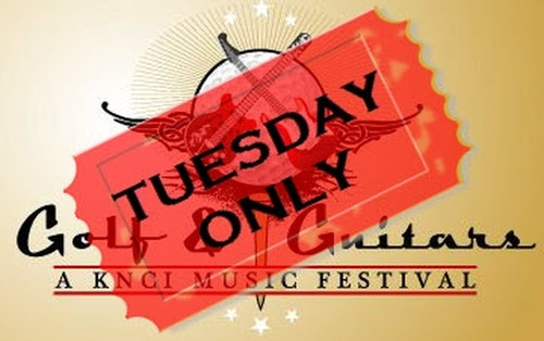 KNCI Golf & Guitars Charity Concert - October 19, 2021 at the Haggin Oaks Golf Complex (TUESDAY ONLY)