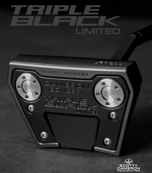 Scotty Cameron Phantom X 9.5 Triple Black Putter - LIMITED EDITION!