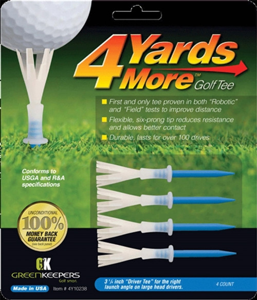 4 Yards More Golf Tees - Driver