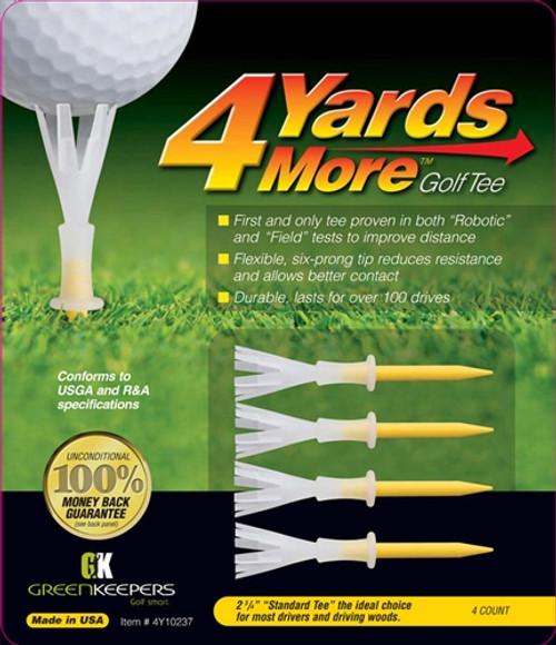 4 Yards More Golf Tees - Standard