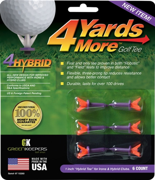 4 Yards More Golf Tees - 4Hybrid
