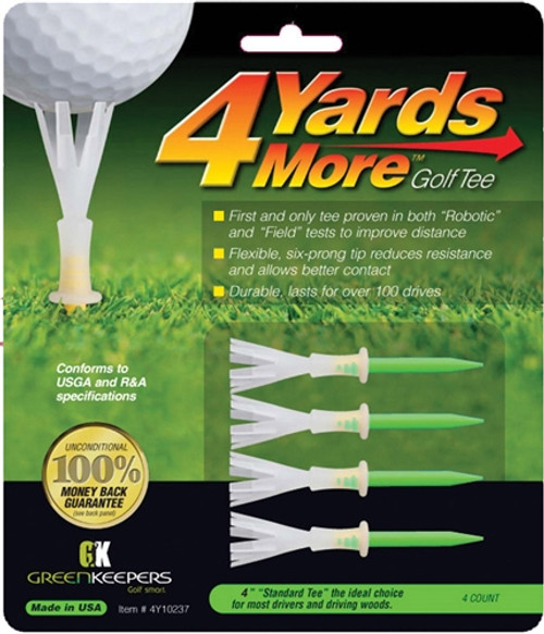 4 Yards More Golf Tees - Extreme