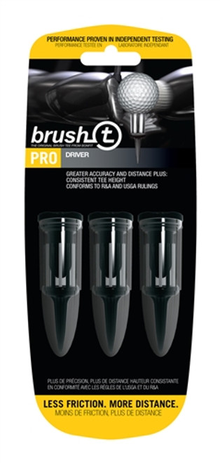 Brush-T Bristle Golf Tees - Driver