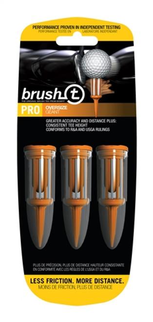 Brush-T Bristle Golf Tees - Oversize