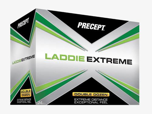 Precept Laddie Extreme Golf Balls Double Dozen - 24 Balls