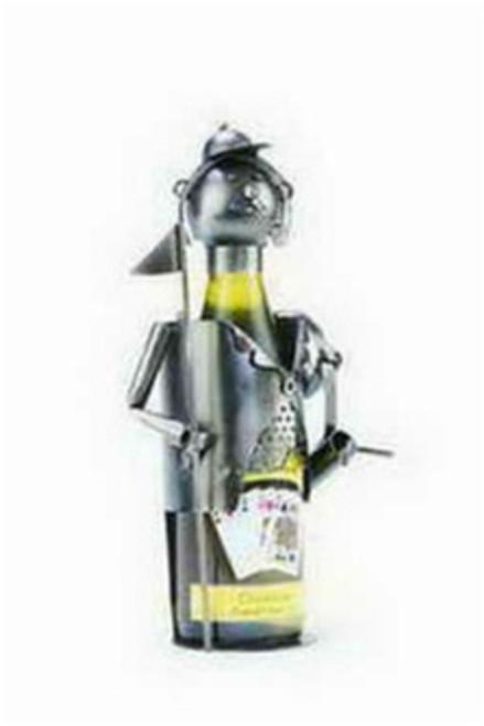 "Berkeley Designs 12"" Golf Caddy Wine Bottle Holder - Decor Metal - 658385"
