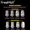 FreeMax atomisers