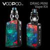 VooPoo Drag Mini vape kit - 4400mAh and UForce T2 Tank