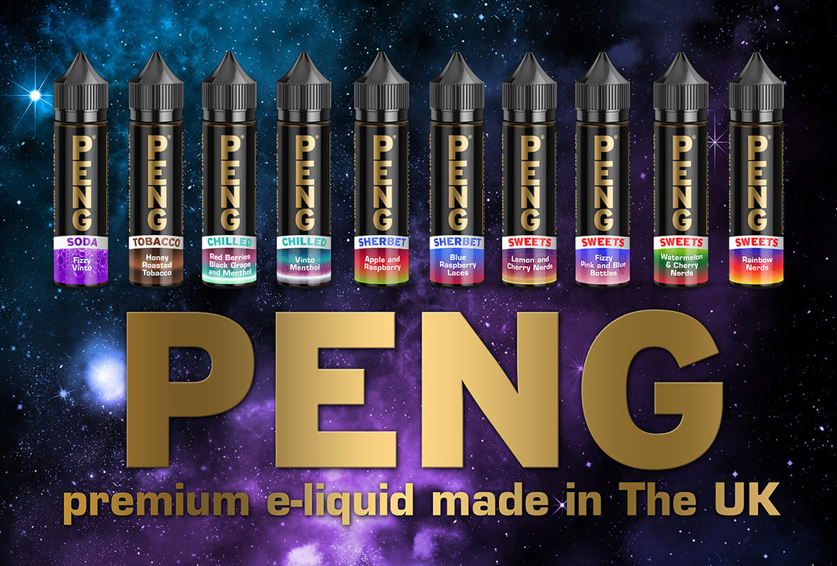 PENG e-liquids now in stock - 50ml bottles