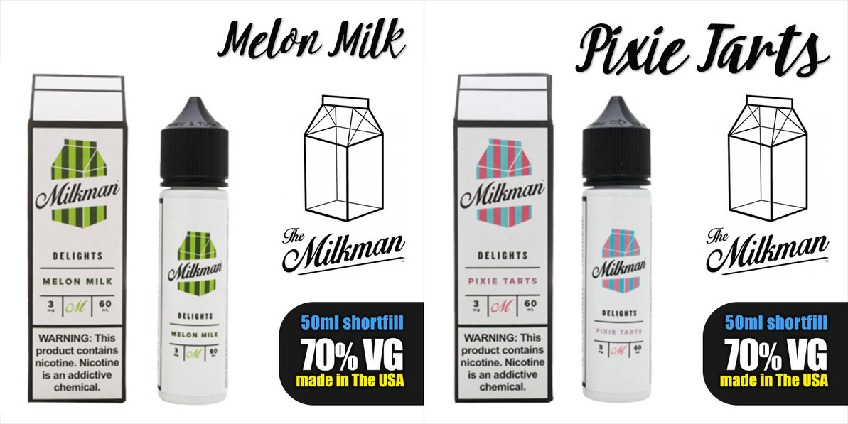 New Range of Milkman Delights