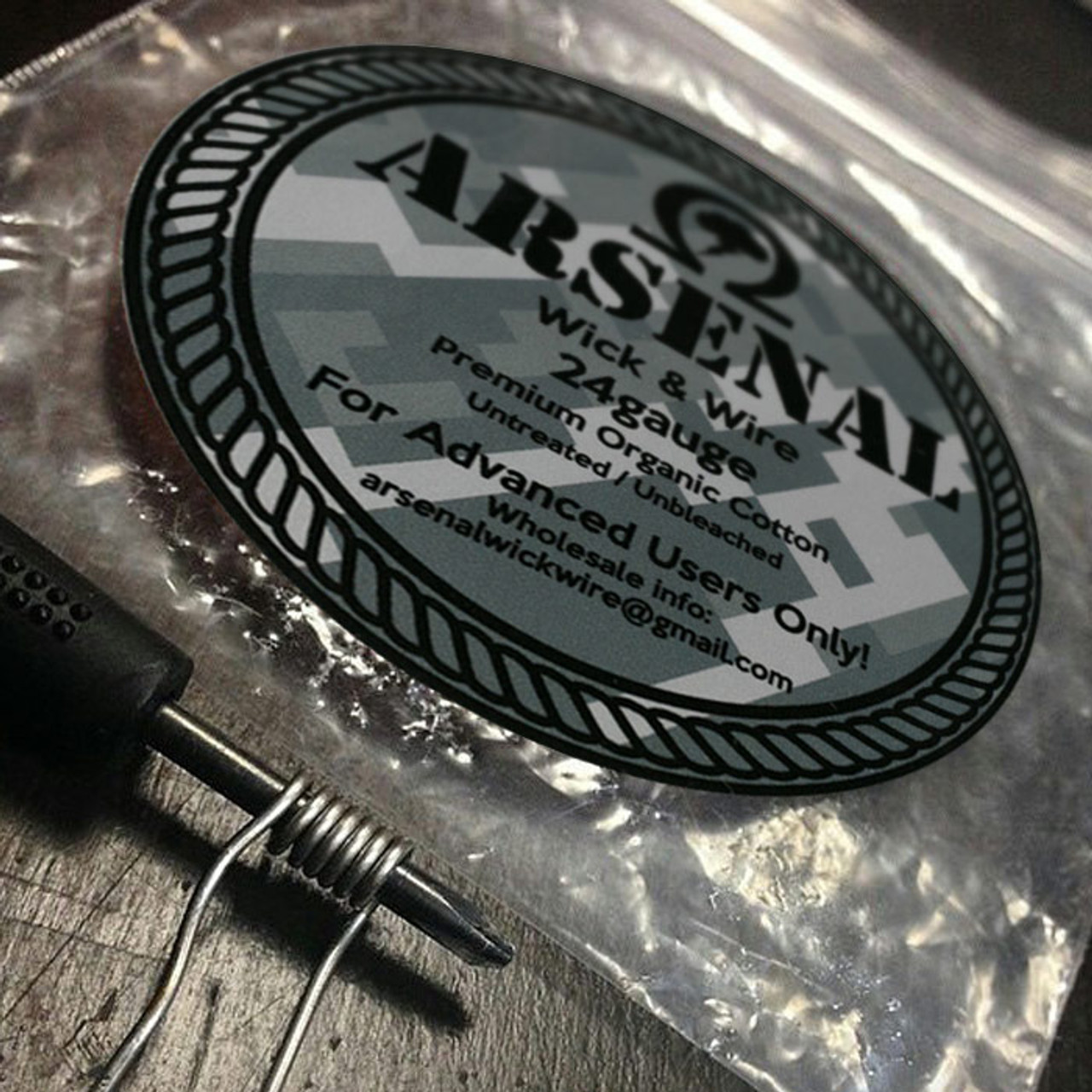 22G Wire | Arsenal Wick And Wire 20g 22g 24g And 26g