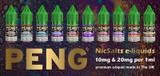 Peng NicSalts e-liquids now in stock