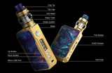Now in stock - VOOPOO Drag Gold kit