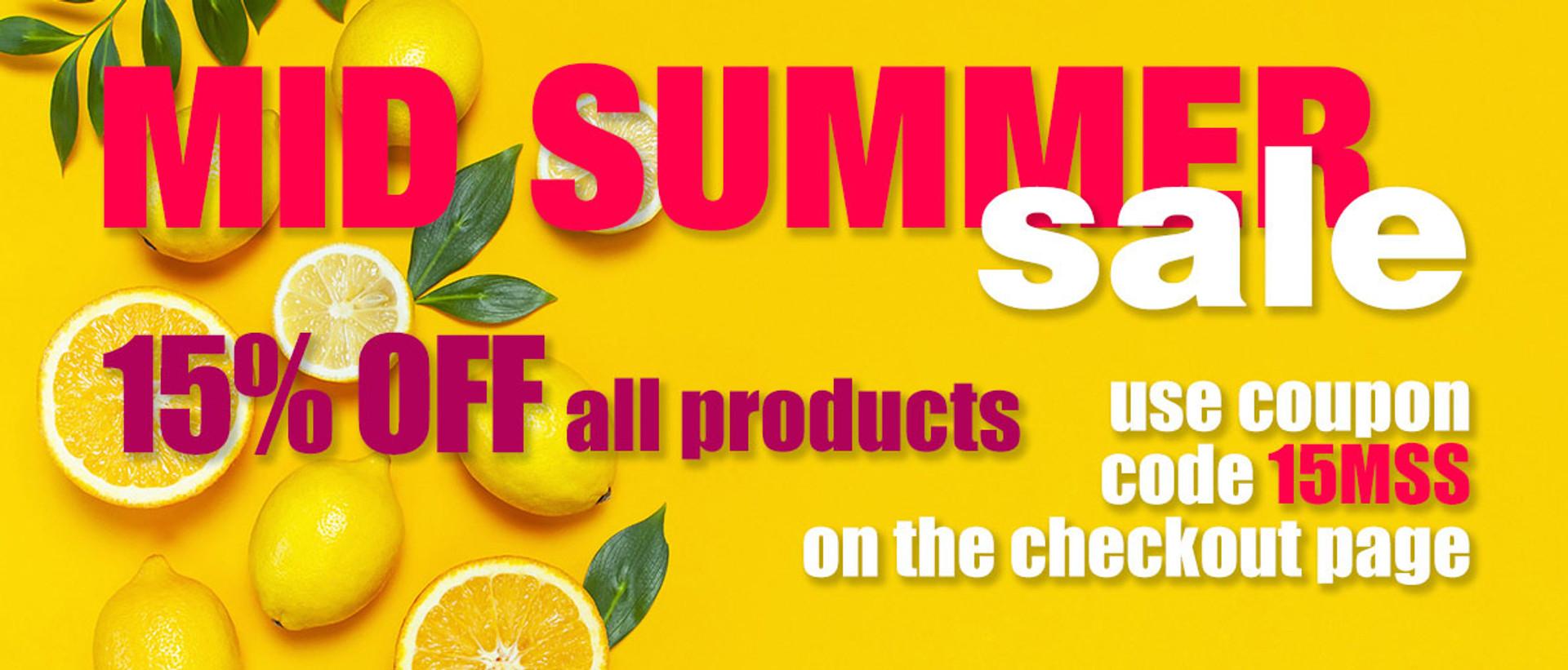 2020 Mid Summer Sale