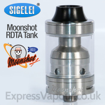 Sigelei Moonshot RDTA Tank by Suprimo - 2ml Sub-Ohm