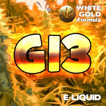 G13  - White Gold Formula e-liquid 60% VG - 10ml