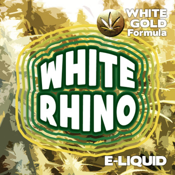 White Rhino - White Gold Formula e-liquid 60% VG - 10ml