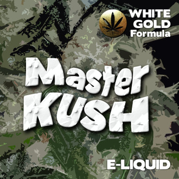 Master Kush - White Gold Formula e-liquid 60% VG - 10ml