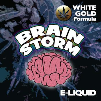 Brainstorm - White Gold Formula e-liquid 60% VG - 10ml