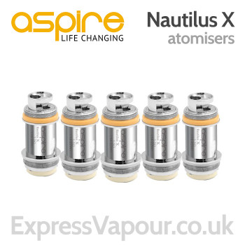 5 Pack - Aspire Nautilus X Atomisers