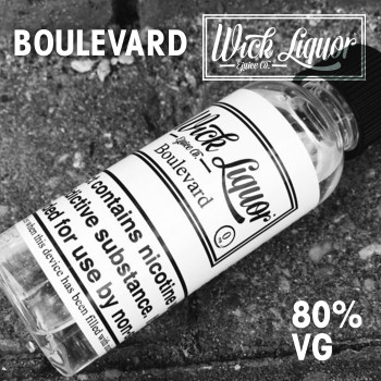 BOULEVARD e-liquid by Wick Liquor - 80% VG - 50ml