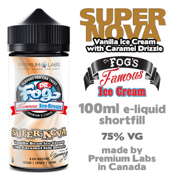 Supernova - Dr Fog's Famous Ice Cream eliquid - 75% VG - 100ml