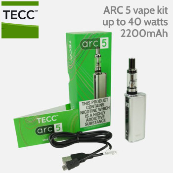 TECC ARC 5 40 watt Vaping Kit