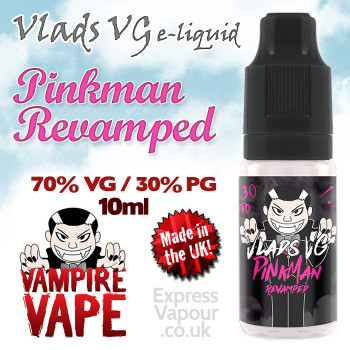 Pinkman Revamped - VLADS VG - 70% VG - 10ml