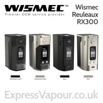 Wismec Reuleaux RX300 Mod - 300w TC Battery