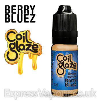 BERRY BLUEZ e-liquid by Coil Glaze - 80% VG - 30ml