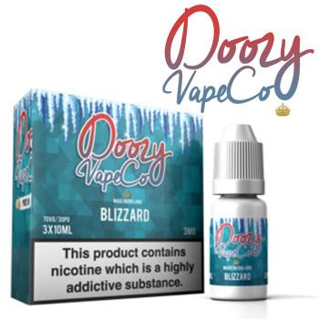 Blizzard by Doozy Vape e-liquid - 70% VG - 30ml