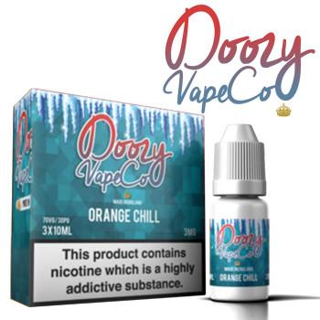 Orange Chill by Doozy Vape e-liquid - 70% VG - 30ml