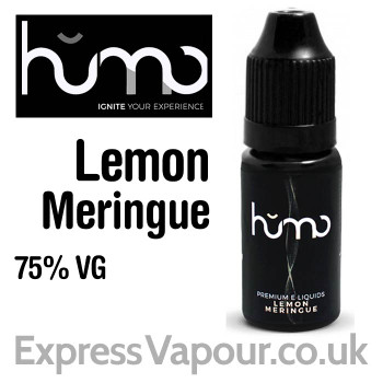 Lemon Meringue by HUMO e-liquid - 75% VG - 10ml