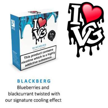 Blackberg by I LOVE VG e-liquid - 70% VG - 30ml