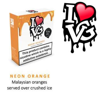 Neon Orange by I LOVE VG e-liquid - 70% VG - 30ml