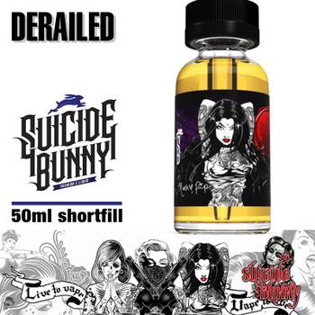 Derailed - Suicide Bunny e-liquids - 70% VG - 50ml