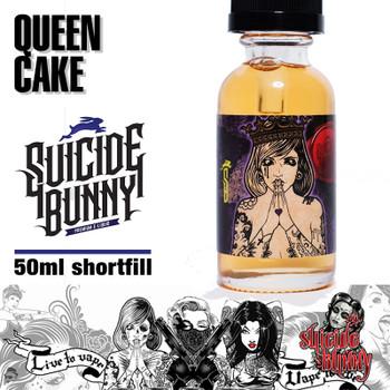 Queen Cake - Suicide Bunny e-liquids - 70% VG - 50ml