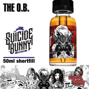 The O.B. by Suicide Bunny e-liquids - 70% VG - 50ml