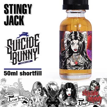 Stingy Jack by Suicide Bunny e-liquids - 70% VG - 50ml