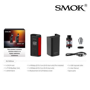 SMOK GX 2/4 vaping kit - 2ml TFV8 Big Baby Tank and 350watt Battery