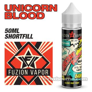 UNICORN BLOOD - Fuzion Vapor e-liquids 65% VG 50ml