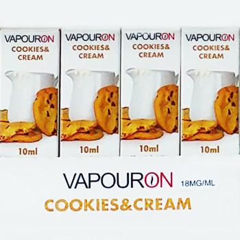 Cookies and Cream - VAPOURON e-liquid - 10ml