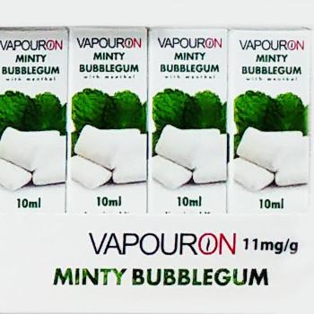Minty Bubblegum - VAPOURON e-liquid - 10ml